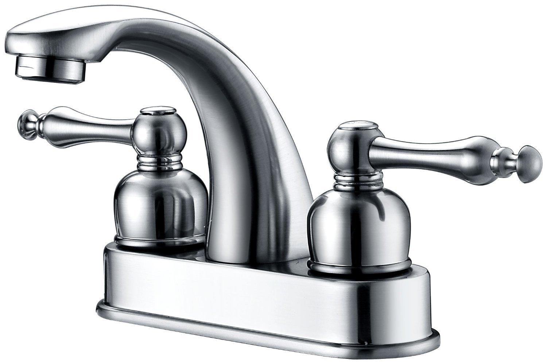 Dyconn Faucet CS3H07-CHR Huntington 3 Hole Centerset Faucet with Base Polished Chrome