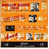 Moulin Rouge/Limelight/The Third Man (PS ONLY 45 rpm)