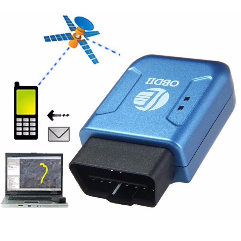 BoomBoost OBD2 Real Time Tracker Auto Fahrzeug mit Tracking System Anti-Diebstahl Auto Kit LBS für Auto GPS Tracker SZDAK-TK206R130