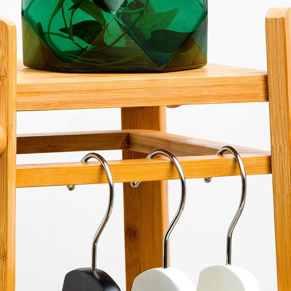 Vestiti semplici da Camera da Letto Home Storage Storage Semplice Moderno in Legno massello Appendiabiti Axdwfd Appendiabiti Appendiabiti da Terra