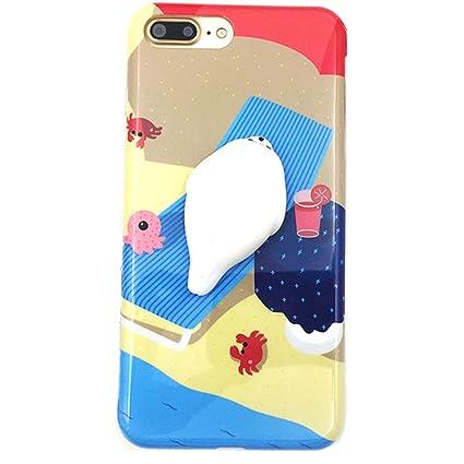 quality design 5d7f8 edb5c iPhone 6 / 6s Case, Tricess 3D Cute Soft Silicone Squishy Cat Phone Case  for iPhone 6 / 6s