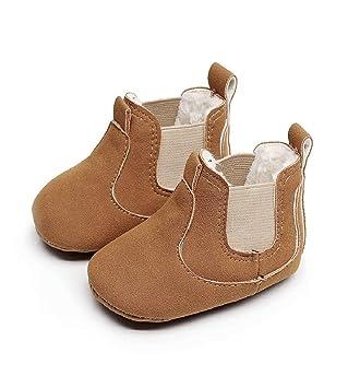 b16c8f5b963cd Chaussures Bébé Binggong Chaussures Enfant en bas âge Nouveau-né Bébé  Garçons Fille Berceau Bottes