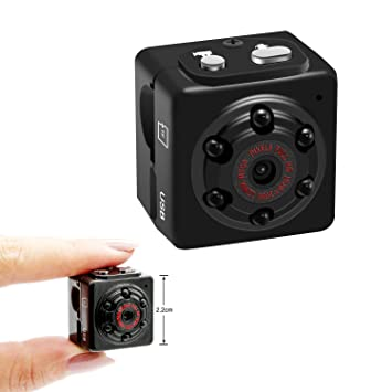 Amazon.com : Aufikr Mini Camera Recorder 1080P Sports HD DV ...