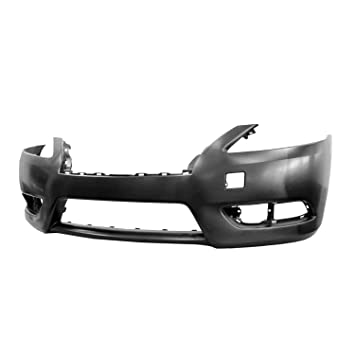 Crash Parts Plus Front Bumper Cover for 13-14 Nissan Sentra ...
