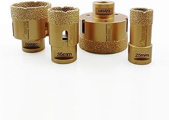 f/ür Granit Fliese aus Keramik Ziegel Kunststoff hohe Qualit/ät Shdiatol Diamant-Stichs/ägebl/ätter Marmor 100 mm