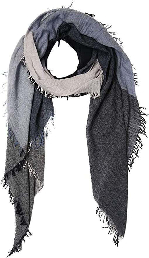Chan Luu Cashmere and Silk Color Block