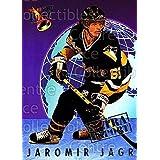 Jaromir Jagr Hockey Card 1992-93 Ultra Import #6 Jaromir Jagr