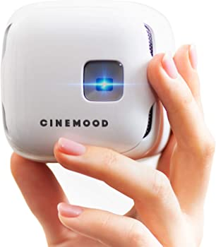 Cinemood Storyteller 35-Lumens DLP Portable Projector with Wi-Fi