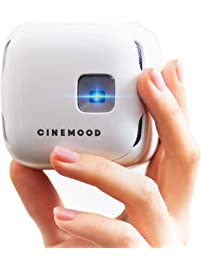 CINEMOOD Portable Movie Theater- Includes Disney Family Favorites, Streams Netflix, Amazon Prime Videos and Youtube...