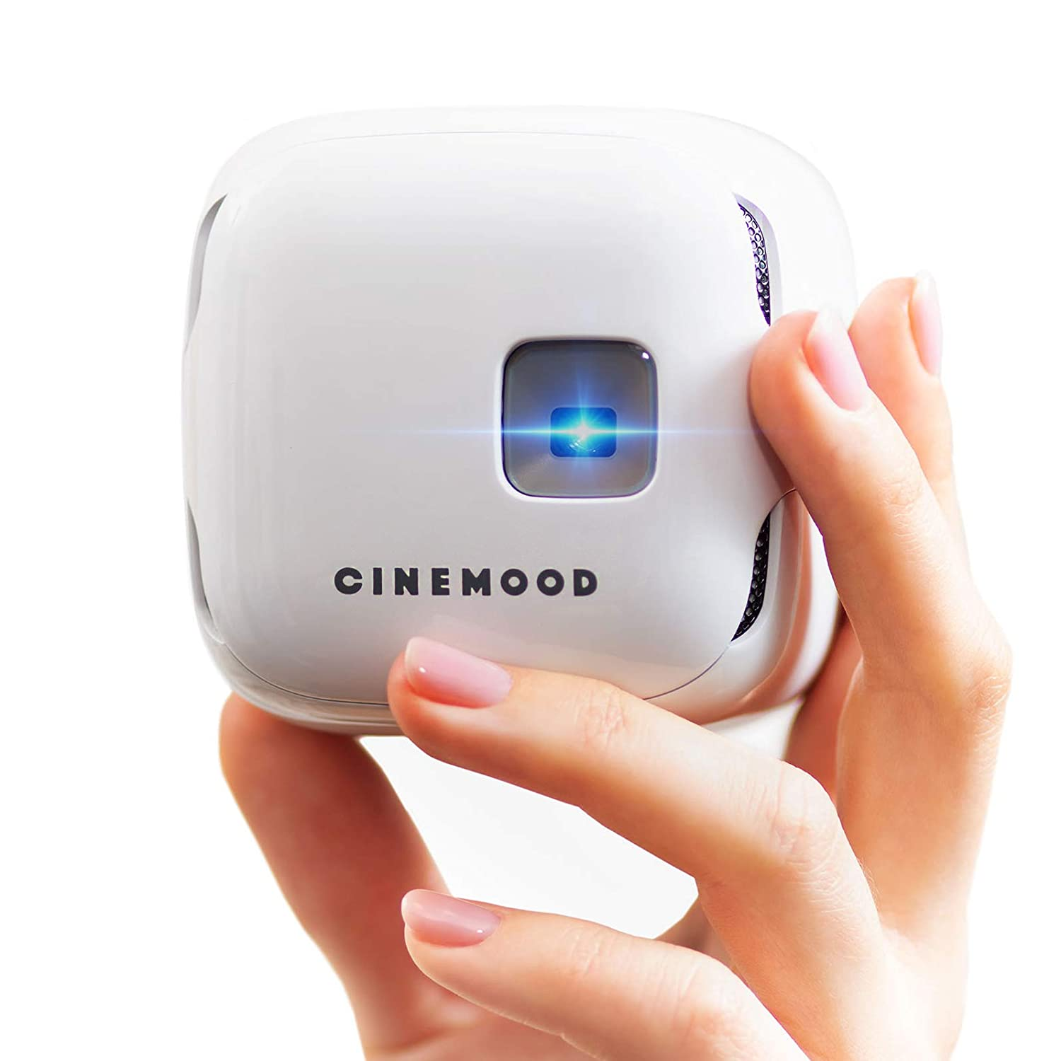 CINEMOOD Portable Movie Theater- Includes Disney Family Favorites, Streams Netflix, Amazon Prime Videos and Youtube - Anytime, Anyplace