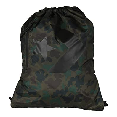 08c835410d87dd Converse Unisex Gym Bags Sport Leisure Bags Gym Bag Cinch Camo Black ( Camouflage)  Amazon.co.uk  Shoes   Bags
