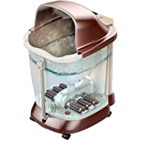 Electric Foot Spa Massagers Foot Tub 40CM Deep Foam Foot Bucket Automatic Wash Basin Electric Massage Heating Foot Bath…