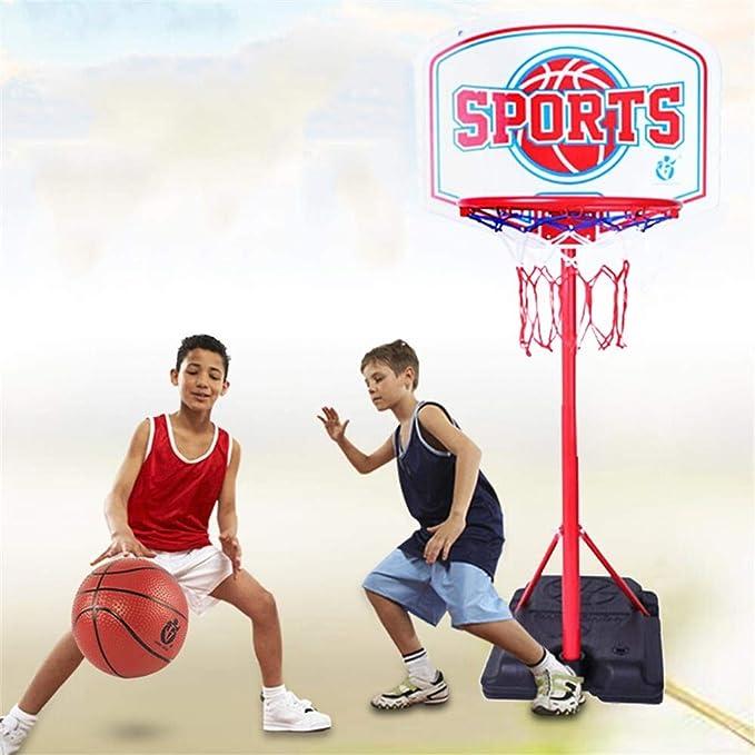SUON Adolescentes Canasta De Baloncesto Altura Ajustable 170-270cm ...