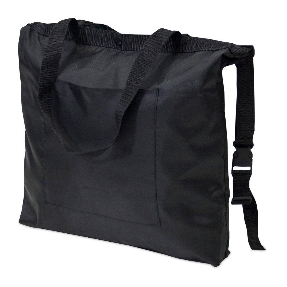achilles Kinderwagentasche, Tasche passend für alle Buggy und Kinderwaagen, schwarz, 47 cm x 37 cm achilles concept AD246bl