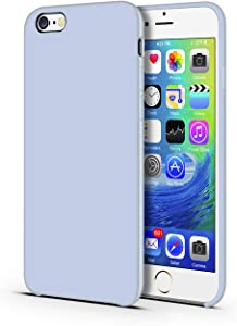 CellEver Compatible with iPhone 6 Plus / 6s Plus Case, Liquid Guard Silicone Rubber Shockproof Case with Soft Microfiber Cloth Cushion Designed for iPhone 6 Plus / 6S Plus 5.5