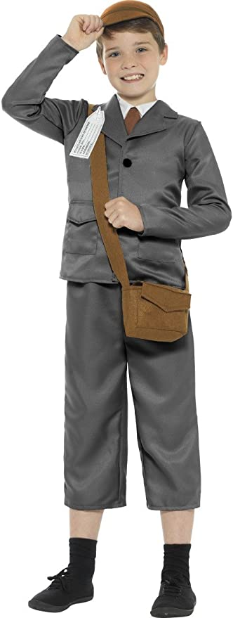 1940s Children's Clothing: Girls, Boys, Baby, Toddler Smiffys WW2 Evacuee Boy Costume $34.23 AT vintagedancer.com