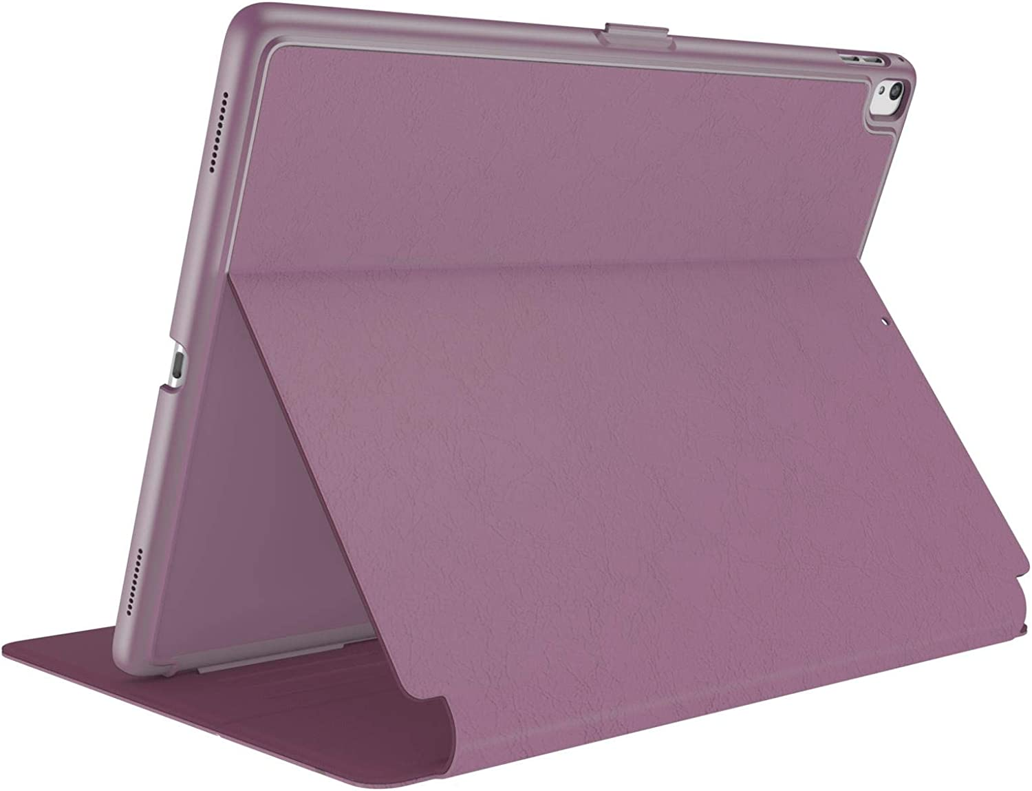 """Speck Products BalanceFolio iPad 9.7-inch Case (2017/2018, Also fits 9.7"""" iPad Pro/Air 2/Air), Plumberry Purple/Crushed Purple/Crepe Pink (121931-7265)"""