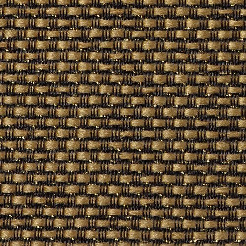 Tan Grill Cloth (Mojotone Black and Tan with Gold Sparkle Grill Cloth 33