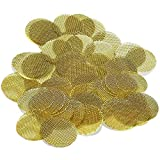 Scotte 50 Pieces Brass Tobacco Pipe Bowl Screens