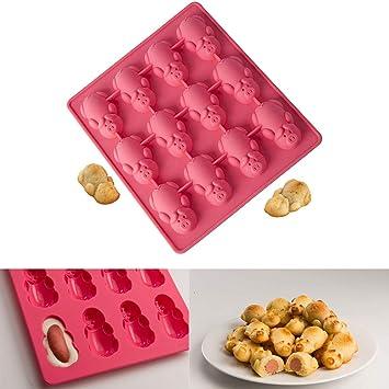 Möbel & Wohnen Muffinformen Pink Silikon Backform Form Geburtstagsparty Schokolade Gelee Hersteller