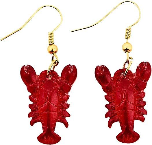 Red Lobster Earrings