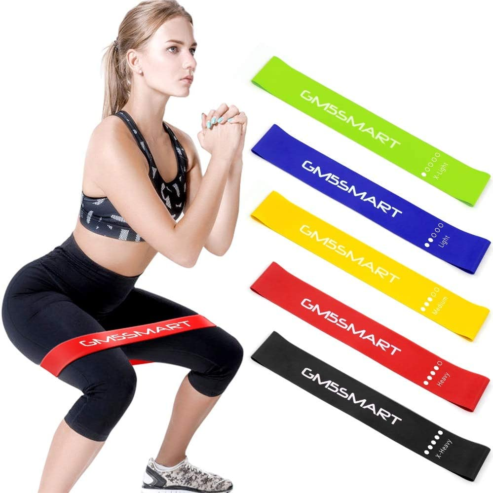NEW Resistance band loop Gym rehab Home Gym exercise stretching training aid