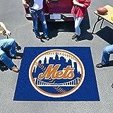 : MLB Novelty All-Star Mat MLB Team: New York Mets, Size: 5' x 6'