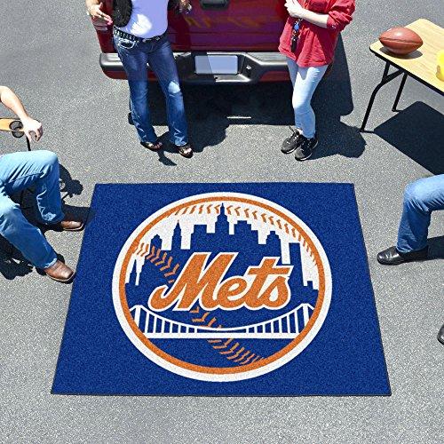 New York Mets Tailgater Mat (Fanmats Sports Team Logo Mat New York Mets Tailgater Rug)