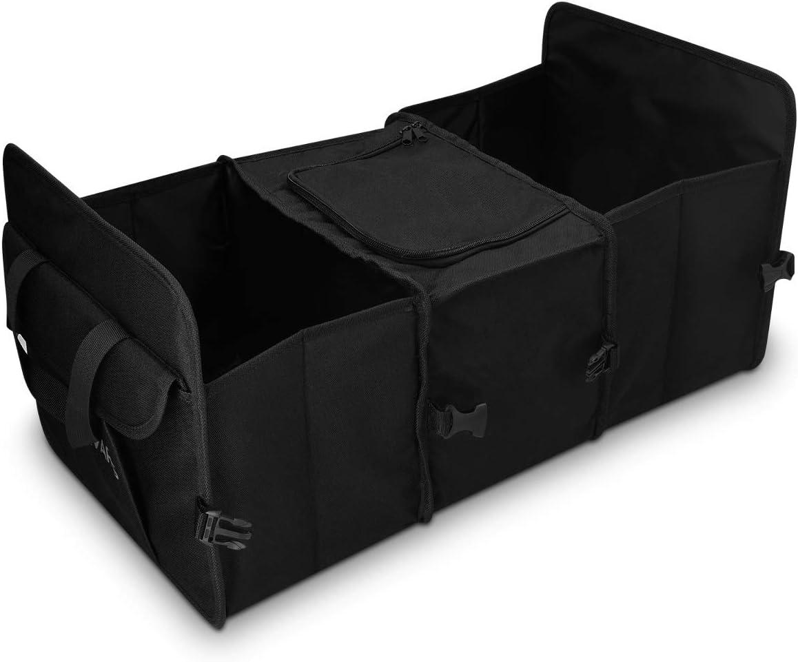 X AUTOHAUX Guanto Scatola Intervallo Organizzatore Conservazione Inserto Divisore Set per Automobile