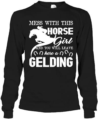 Girls horse T-shirt