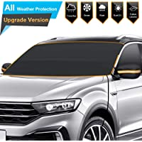 $27 » BruRkim Car Windshield Snow Ice Cover for Winter, Sunshade Cover for Summer, Double Side…