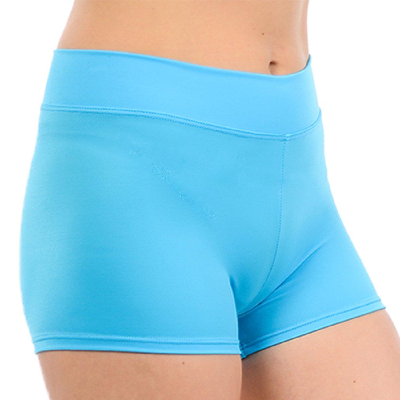 Anza Girls Activewear Dance Booty Shorts Gym Workout Yoga Shorts GSH7019