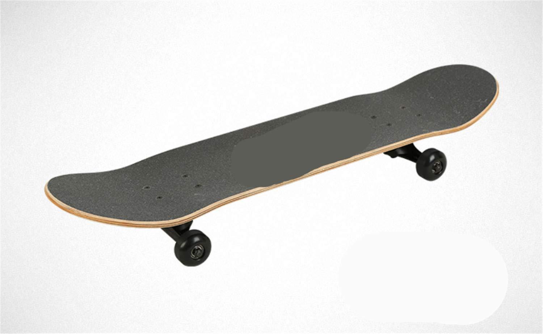 スケートボード滑り止めボードデッキ木製プロフェッショナルハイウェイ初心者スケータースケート経験豊富なダンス屋外79 * 20 * 10センチバーチ子供大人の女の子男の子  B B07MLNK7WT
