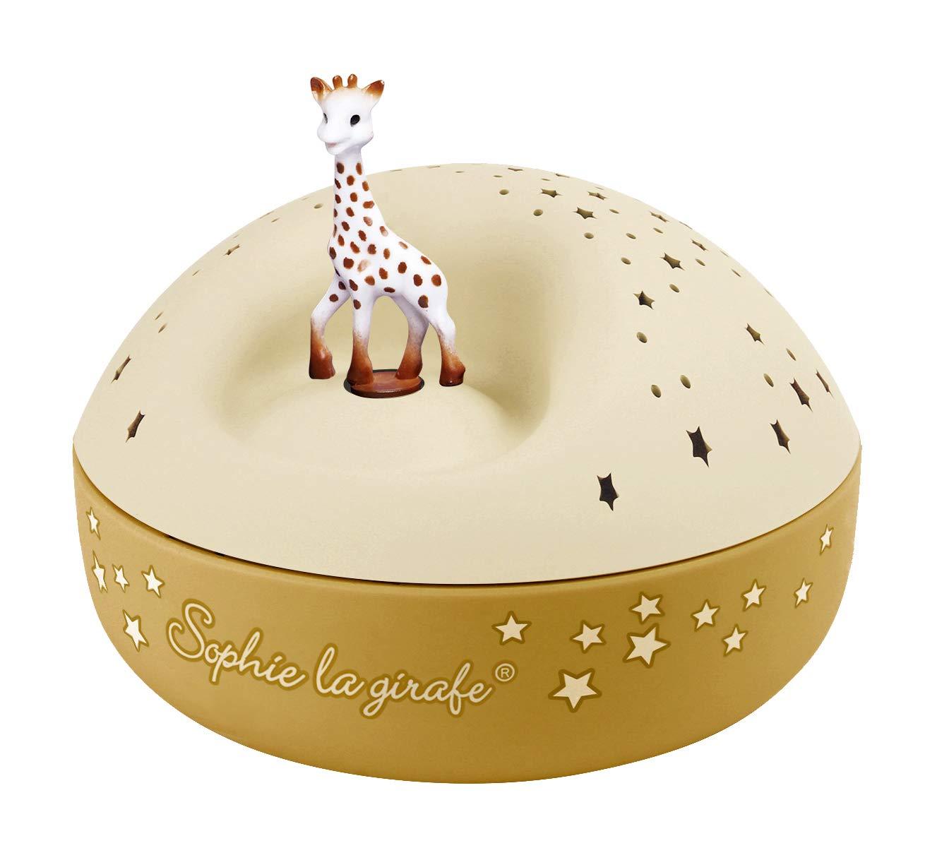 2 Figurines Amovibles Sophie la Girafe Colori Rose Musique Feelings TROUSSELIER Id/éal Cadeau de Naissance Fonctionnement Simple Bo/îte /à Musique Dancing