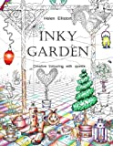 Inky Garden: Creative colouring with quests & 3D paper flower