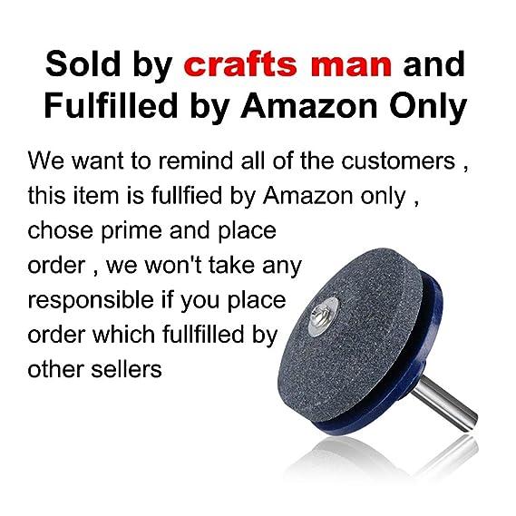 Amazon.com: Crafts Man 5 paquetes de afilador de cuchilla ...