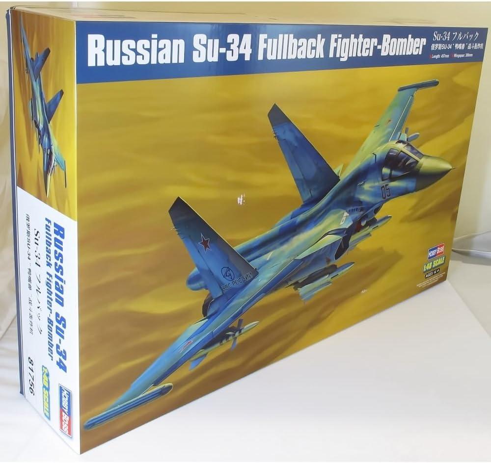 Hobby Boss 81756 – Maqueta de Russian su de 34 fullback Fighter de Bomber