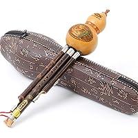 GuanRo Chinese Traditionele Gourd Zijde Muzikaal Instrument Zizhu Tweede Toon C/B Tune Hulusi Gourd Zijde Etnisch Orkest…