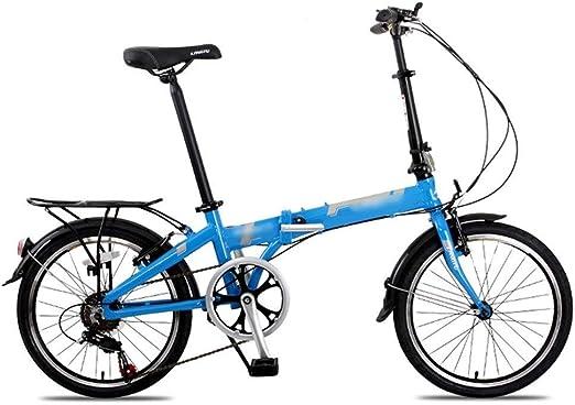 Paseo Bicicleta Plegable Hombres Y Mujeres Adultos Amortiguador De ...