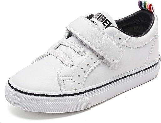 Yytimes Kids Leather Low Top Sneaker