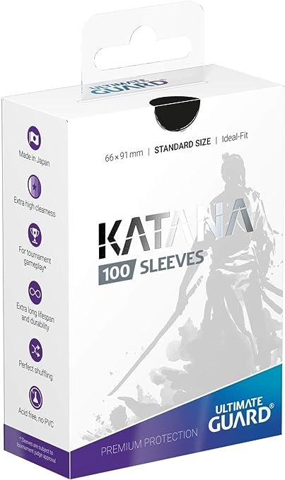 Ultimate Guard katana sleeves estándar violeta 100 cartas fundas fundas TCG