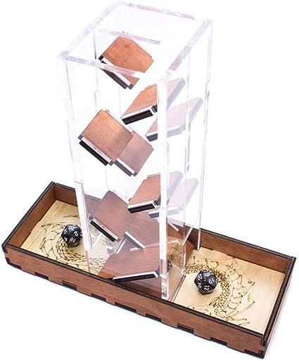 Gunstock ~  C4Labs Short Dice Tower ~ Great for Gamers /& Dice Games
