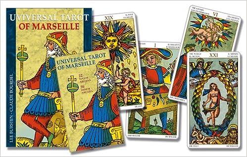 Universal Tarot of Marseille: Book & Tarot Pack Set: Amazon.es: Bursten, Lee, Burdel, Claude: Libros en idiomas extranjeros