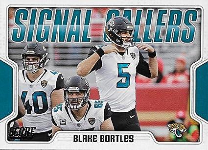 65ffd5b28 Amazon.com  2018 Score Signal Callers  1 Blake Bortles NM-MT Jaguars ...