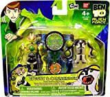 Ben 10 Alien Creation Chamber Mini Figure 2-Pack Eyeguy and Cannonbolt