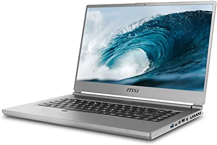 "MSI P65 Creator-1084 15.6"" 4K UHD Display, Ultra-Thin and Light, RTX Studio Laptop, Intel Core i7-9750H, GeForce RTX 2060, 32GB DDR4, 1TB Teton Glacier SSD, Win10PRO, VR Ready"