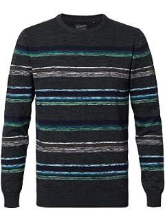 Petrol Industries Pullover Streifen: : Bekleidung