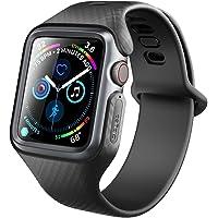 苹果Apple Watch 4表带44mm美国Clayco保护壳套iWatch手表带40MM Hera (第4代40mm, 黑色)