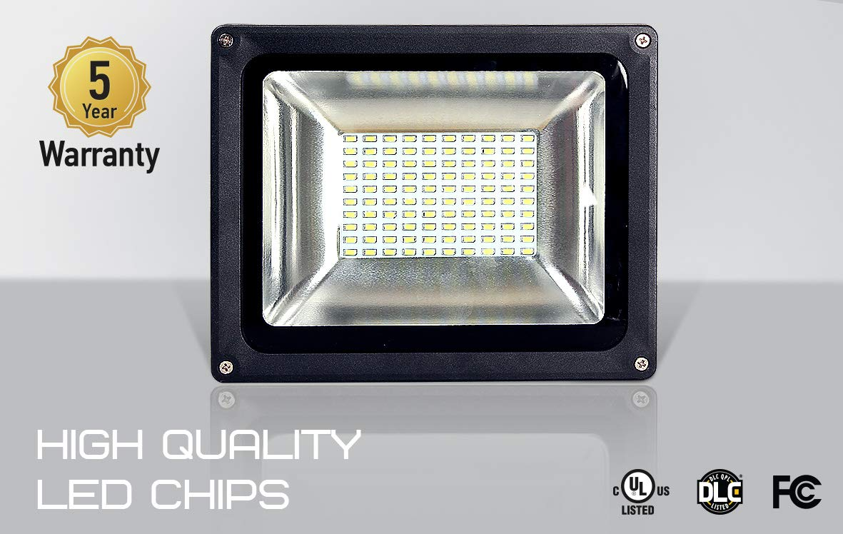 Amazon.com: ASD - Foco LED (20 W, SMD, impermeable, 4000 K ...