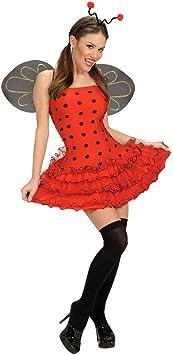 NET TOYS Disfraz de Mariquita para Mujer Traje: Amazon.es ...